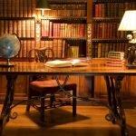 Глобус в кабинете