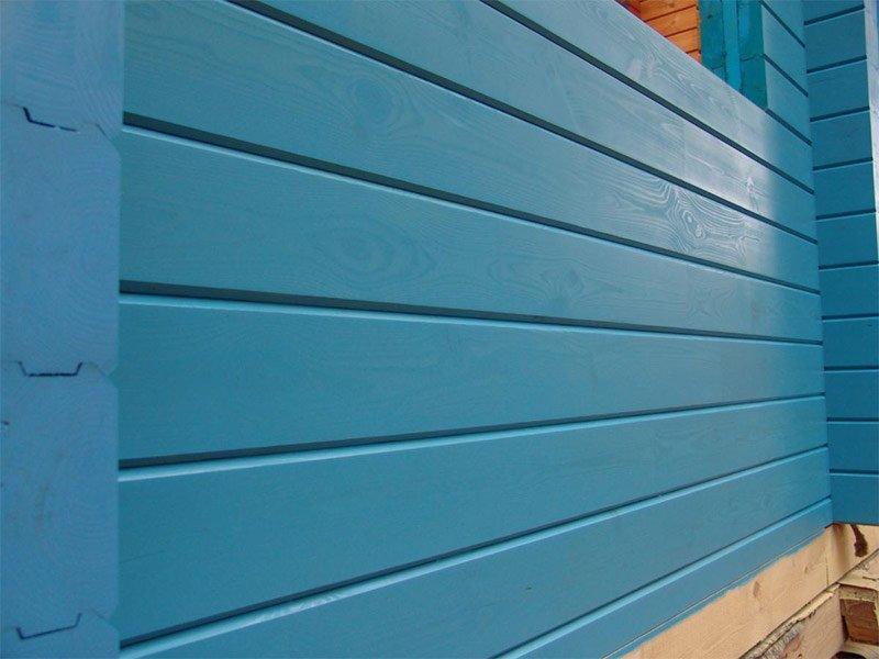 Для окраски стен снаружи
