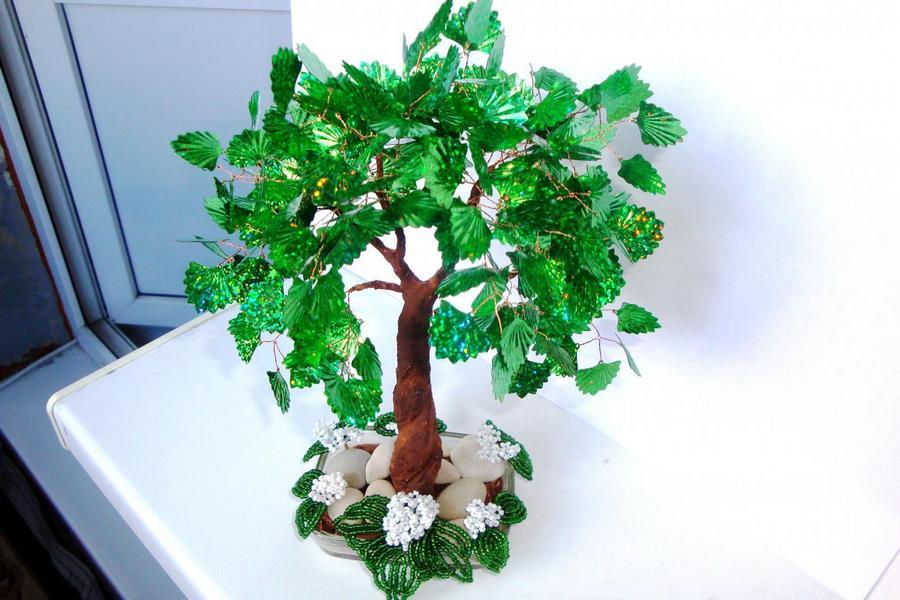 Декоративные деревья своими руками