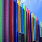 Алюминокомпозитные панели в дизайне здания