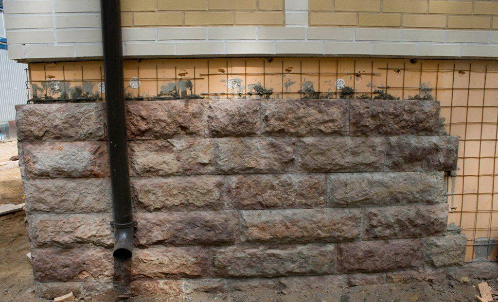 Укладка камня без расшивки швов