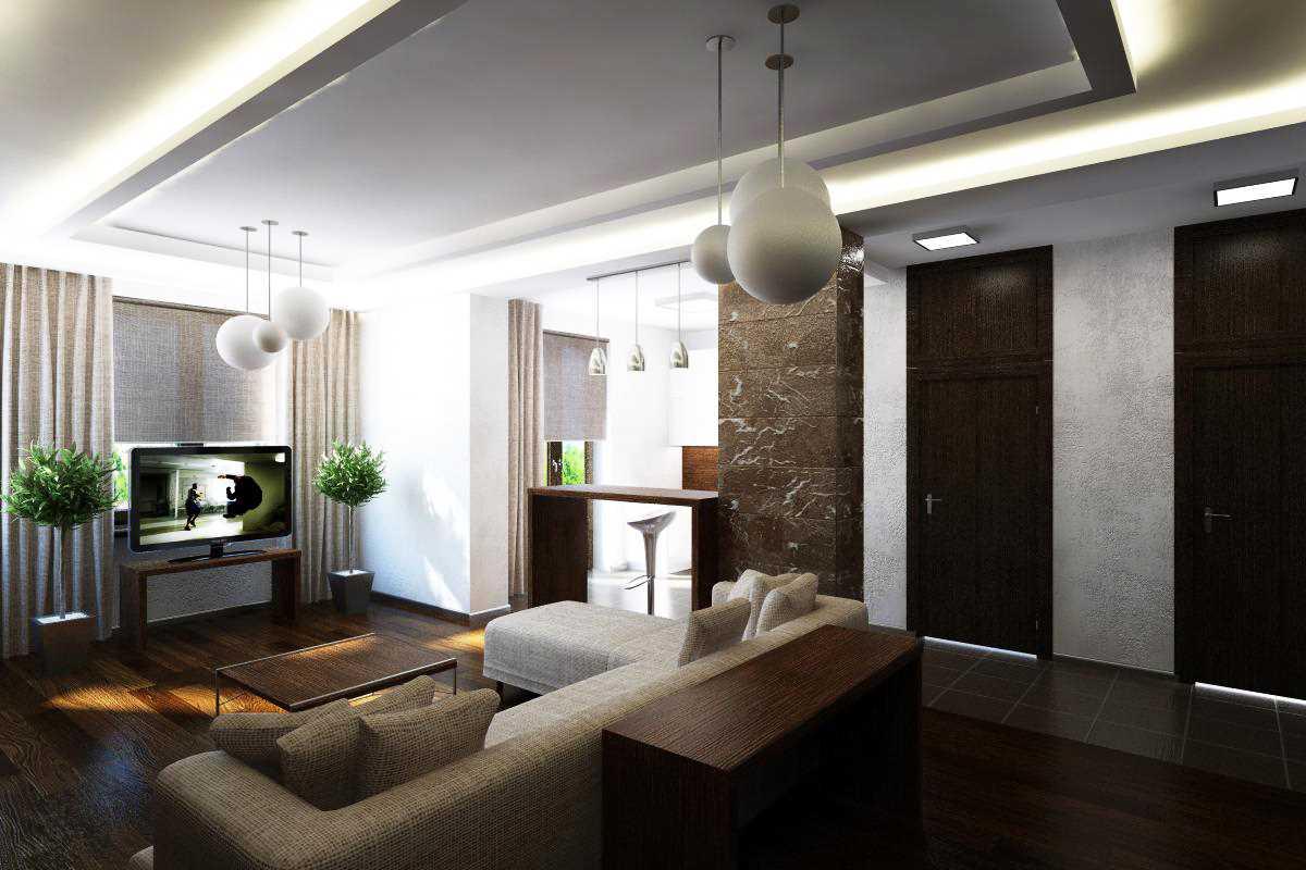 Дизайн 4-х комнатной квартиры