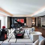 Черный, красный и белый в дизайне квартиры