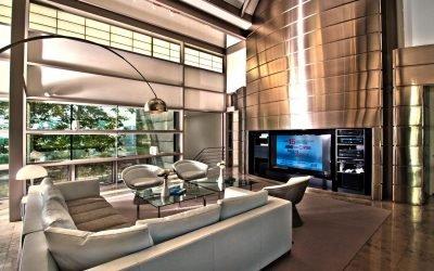 Гостиная в стиле хай-тек: варианты дизайна