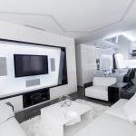 Светлые оттенки в гостиной