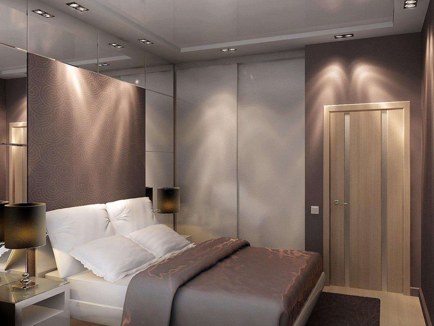 Искусственное освещение в спальне