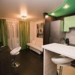 Зеленый в интерьере квартиры
