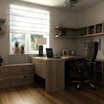 Дизайн кабинета в трехкомнатной квартире