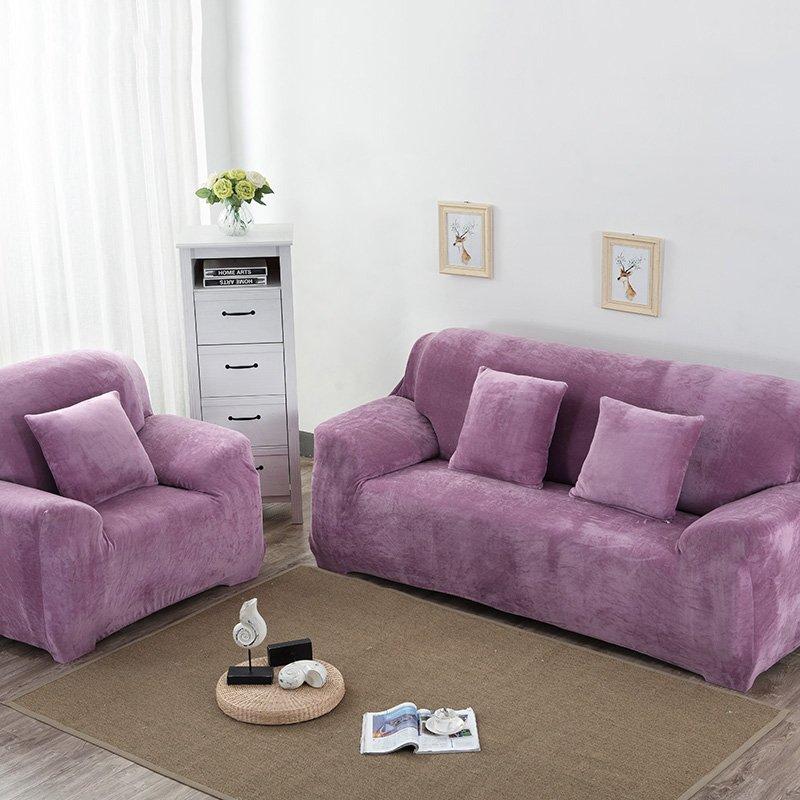 фото розово сиреневого дивана