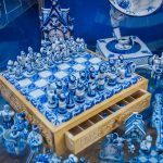 Шахматы гжель