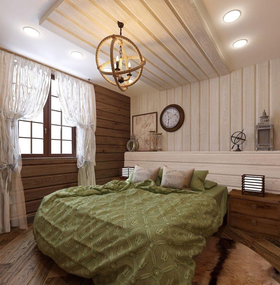 комнаты из имитации бруса фото