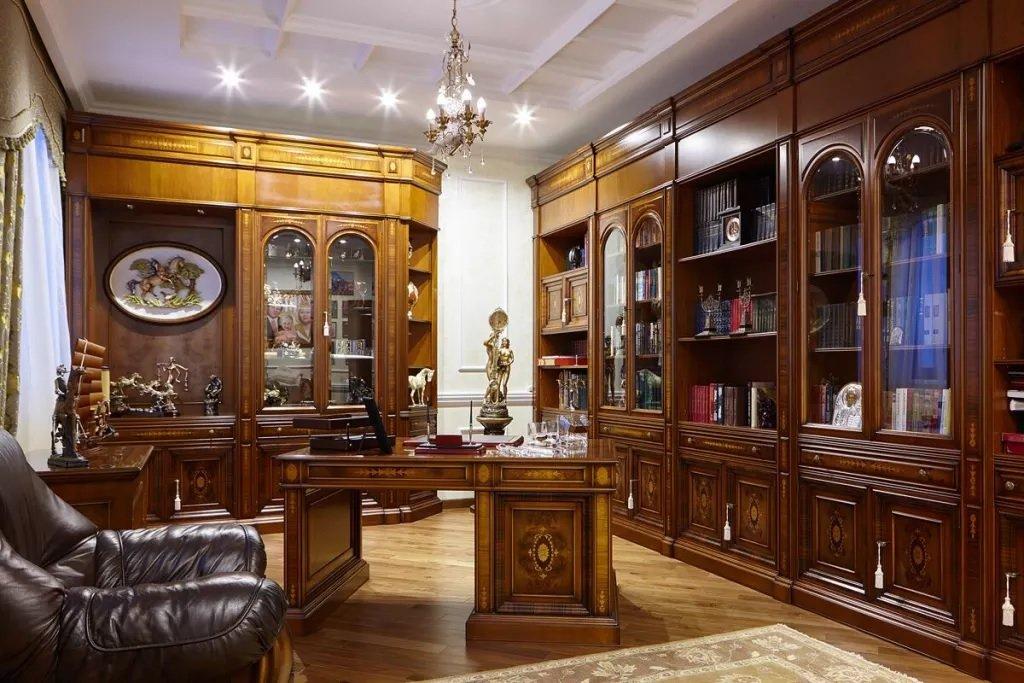 Обустройство кабинета в классическом стиле