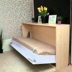 Светлая комод-кровать