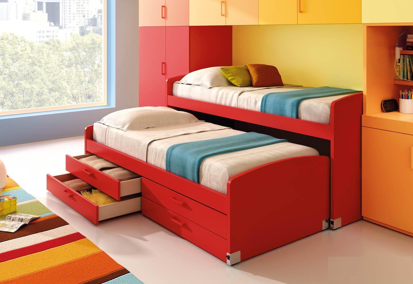 Выкатная кровать-трансформер