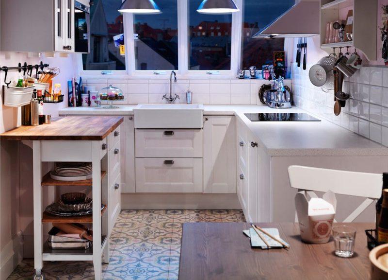 Кухня в брежневке