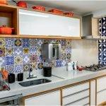 Плитка с восточными мотивами на кухне