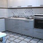 Кухня с электрической духовкой