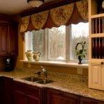 Занавески в кухне