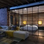 Спальня за стеклом