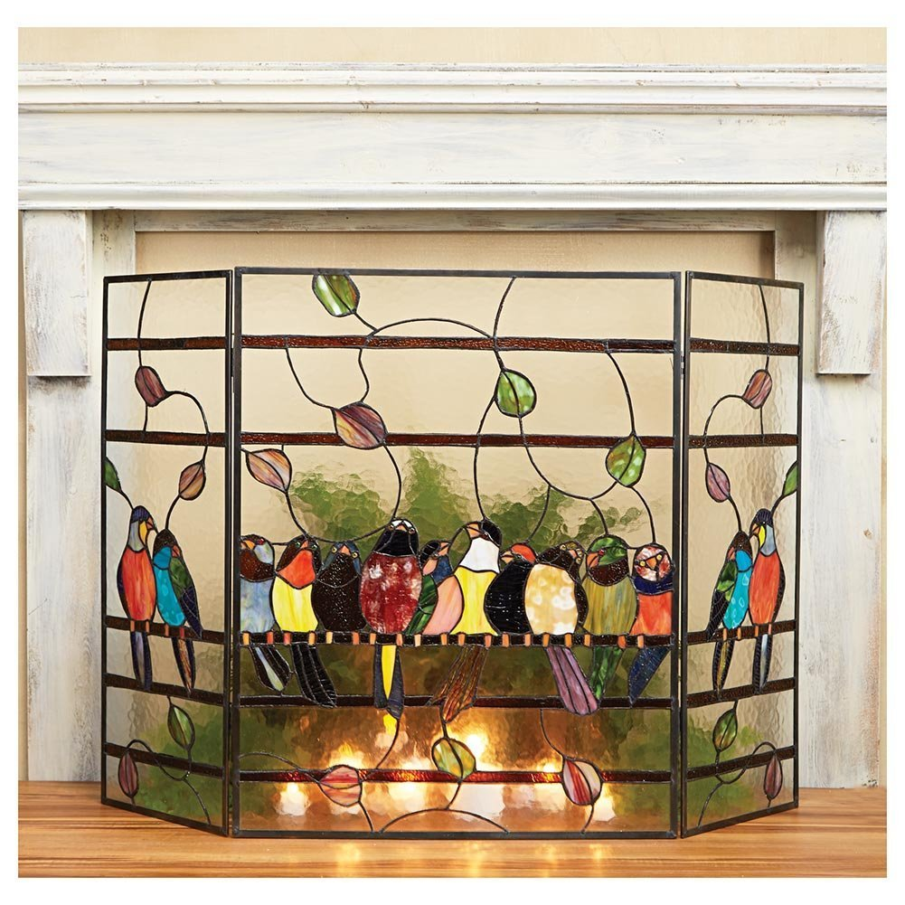 Птицы на стекле
