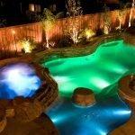 Светодиодная подсветка для бассейна