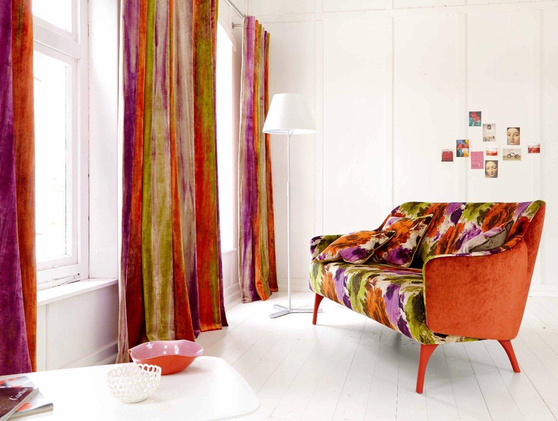 Использование текстиля в интерьере