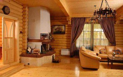Отделка блок-хаусом внутри дома и квартиры