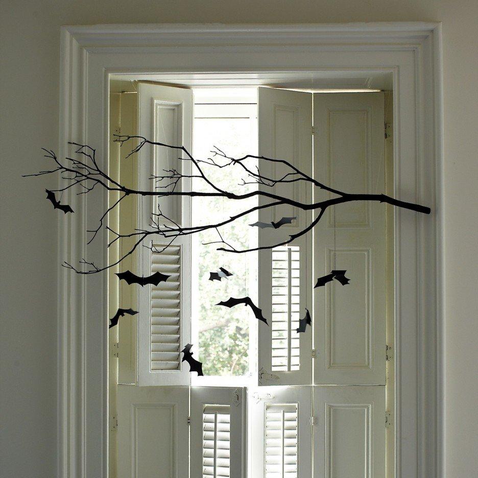 Ветка на хэллоуин