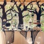 Деревья на окне