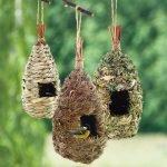 Плетеные домики для птиц