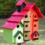 Скворечник для большого количества птиц