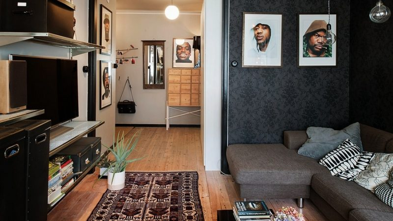 Дизайн двухкомнатной квартиры 44 кв м