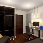 Классический стиль в интерьере молодежной комнаты