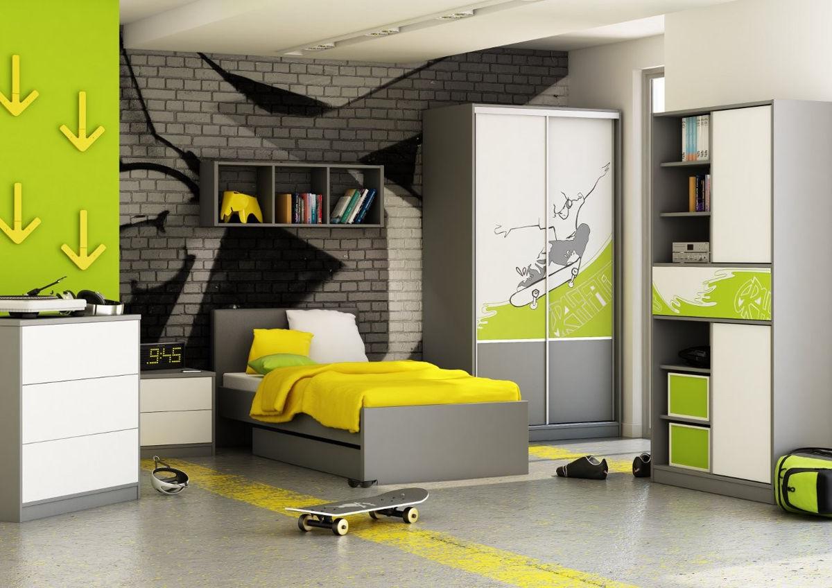 Серый цвет в дизайне комнаты