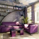 Сиреневая мебель