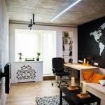 Небольшая комната в стиле лофт