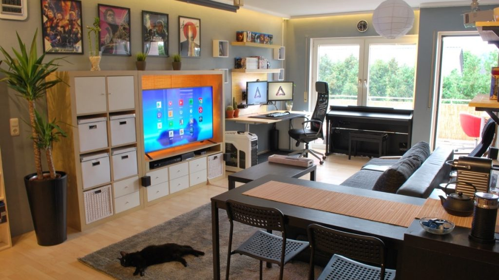 Дизайн однокомнатной квартиры молодого мужчины