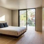 Спальня с одной кроватью