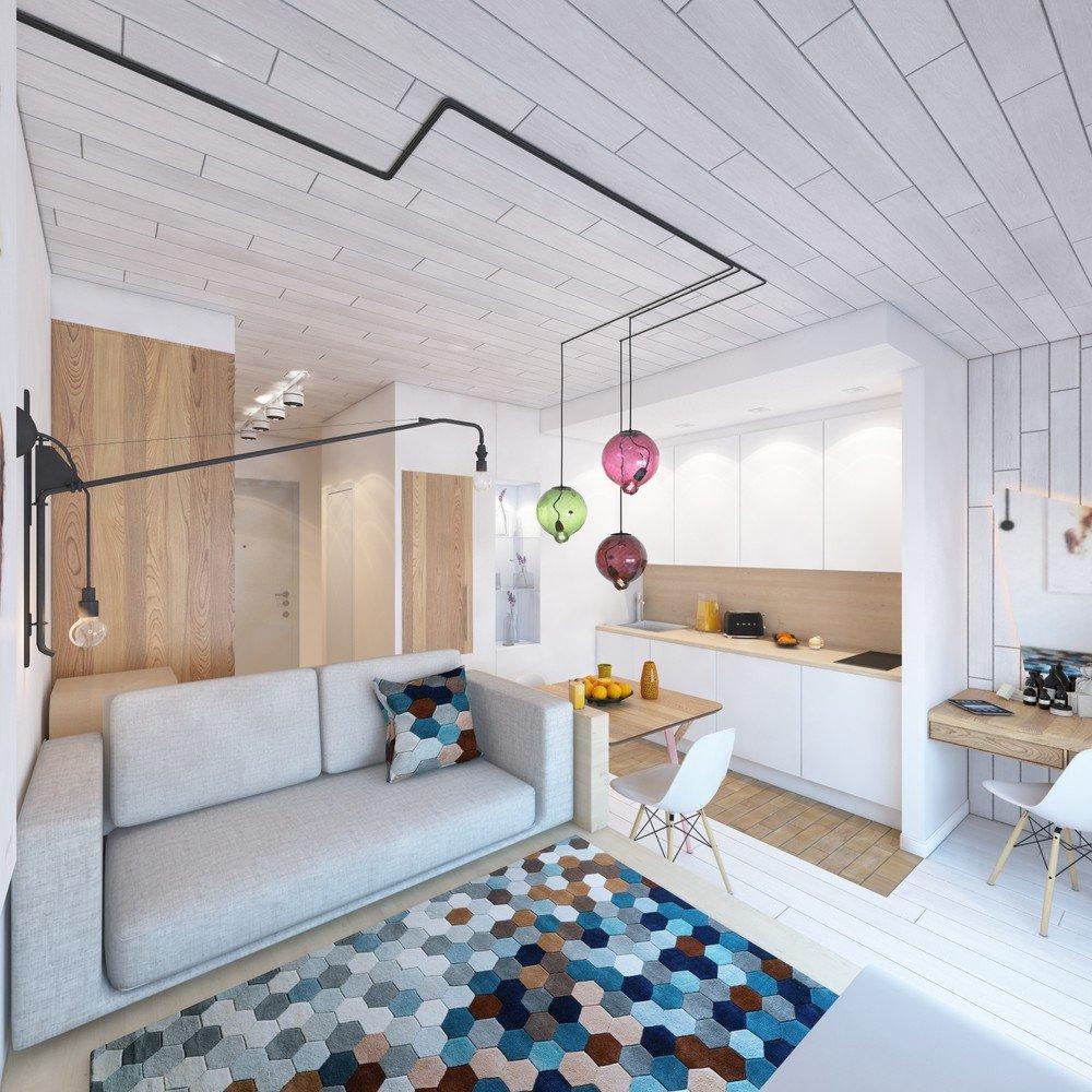 Небольшая квартира студия