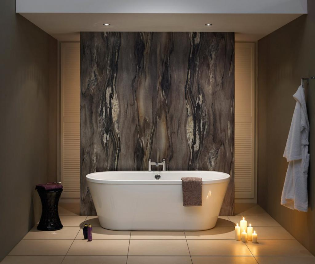 Ванная комната в минималистическом стиле