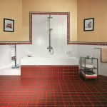 Ванная комната в шотландском стиле