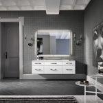 Навесная мебель в ванной