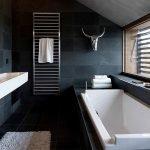 Ванная в стиле минимал