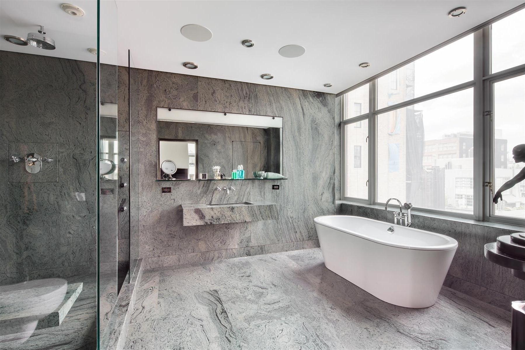 Хай-тек в дизайне ванной