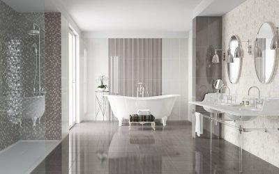 Ванная в сером цвете: идеи оформления и дизайна