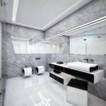 Лофт в дизайне ванной