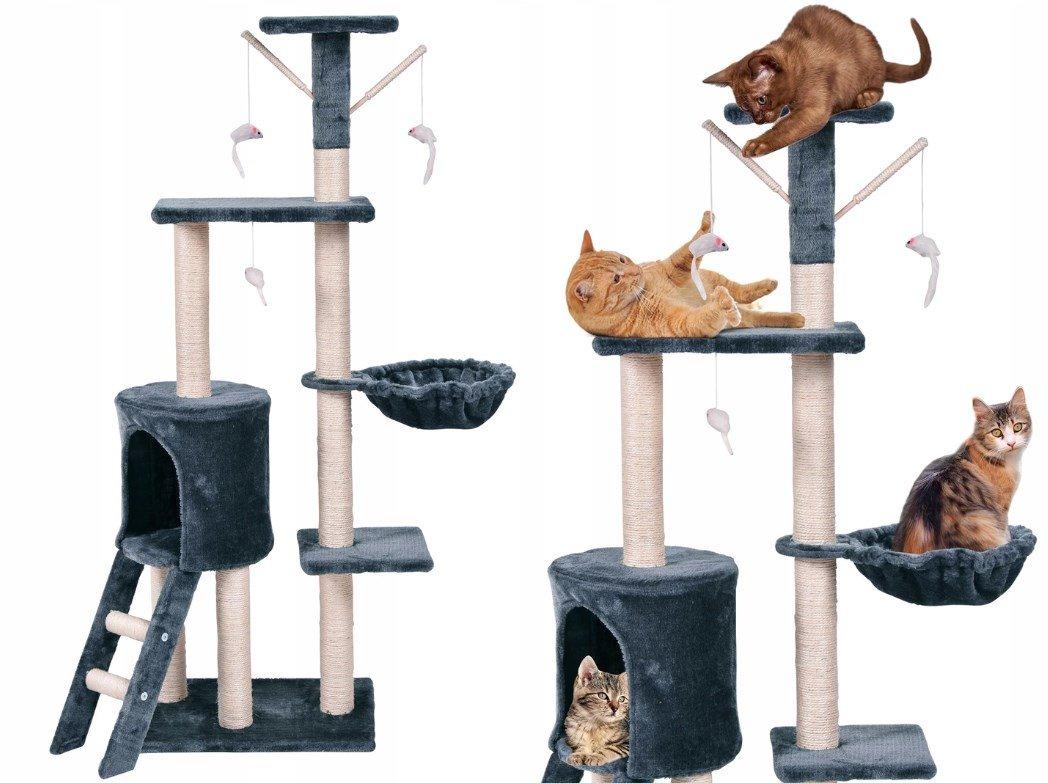 Современный игровой комплекс для кошки