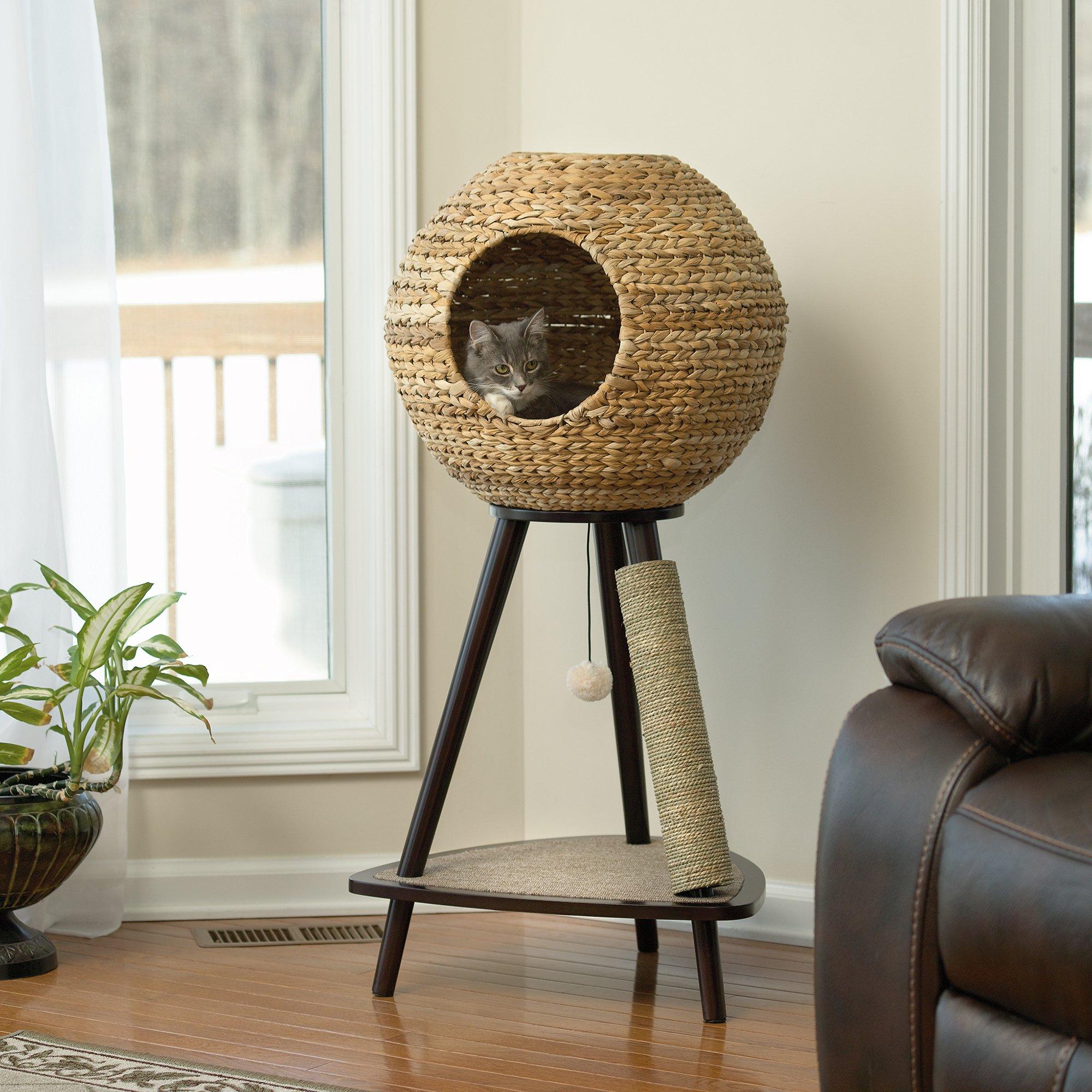 Круглый дом для кошки