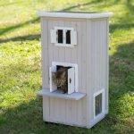 Уличная будка для кошки