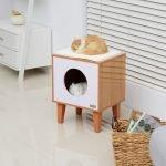 Домашняя будка для кошки